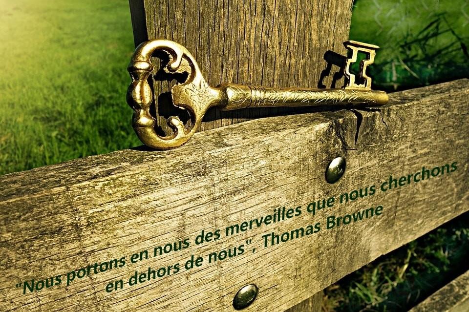 clefs de l'évolution - Thérapeute bien-être - citation Thomas Browne